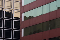 Предпосылка Windows и отражений абстрактная Стоковые Изображения RF