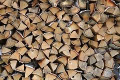 Предпосылка Woodpile стоковое изображение