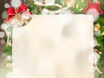 предпосылки голубой рождества темноты вал снежинок ели темно 10 eps Стоковые Изображения RF