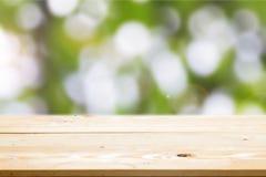 Предпосылки деревянного стола Стоковое Изображение