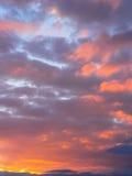 предпосылки естественные Небо Стоковые Фото