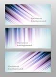 Предпосылки знамени дела конспекта установленные Стоковые Фотографии RF