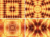 Предпосылки золота абстрактные Стоковые Изображения RF