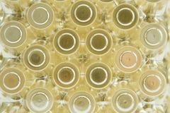 Предпосылки круга золота Стоковые Изображения RF