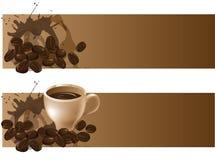 Предпосылки кофе Стоковое фото RF