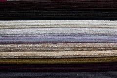 предпосылки текстуры ткани Стоковая Фотография
