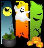 Предпосылки хеллоуина бесплатная иллюстрация