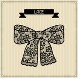 Предпосылки шнурка шнурка орнамент винтажной флористический Стоковые Фото