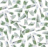 100 предпосылок примечаний евро Стоковое фото RF