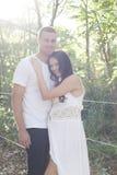 предпологать пар счастливый Стоковая Фотография