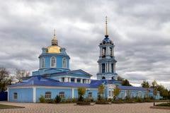 1507 1533 предположений построили леты собора Zadonsk Россия Стоковое фото RF