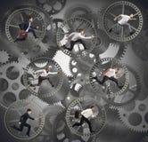Предприниматели шестерни Стоковые Изображения