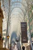 Предсердие на Galleria Алена Ламбера - Торонто, Канада стоковые изображения rf