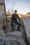 Представитель русской мафии, молодой бандит Стоковое Изображение RF