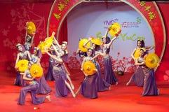 представление танцульки Стоковое Фото