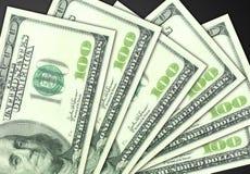 представляет счет доллар 100 одно Стоковое фото RF