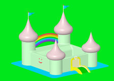 Содружественный замок Стоковое фото RF