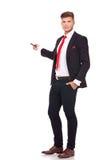 Представление бизнесменом Стоковое Фото