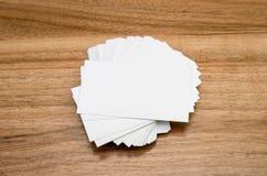 Представление визитной карточки для продвижения Стоковые Изображения
