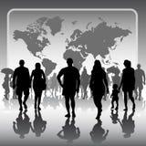 Представление глобального бизнеса Стоковые Фото