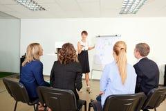 Представление дела для команды бизнесменов Обсуждение, Стоковое фото RF
