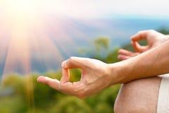 Представление йоги Стоковые Фото