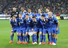 Представление команды FC Dnipro для группы Стоковые Изображения