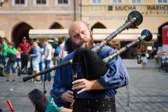 Представление музыкантов улицы Стоковая Фотография RF