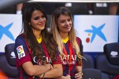 Представление младшего Neymar официальное как игрок FC Barcelona стоковые фото
