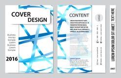 Представление обложки книги Стоковые Изображения RF