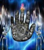 Представление руки времени Стоковые Изображения