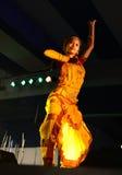 Представление танца стоковое изображение