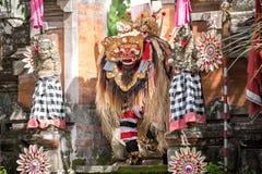 Представление танца Barong стоковые изображения