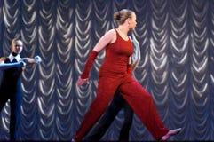 представление танцульки самомоднейшее Стоковые Фотографии RF