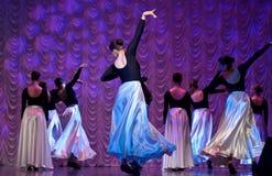 представление танцульки самомоднейшее Стоковое Изображение RF