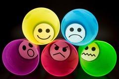Представление эмоций Стоковое Изображение RF
