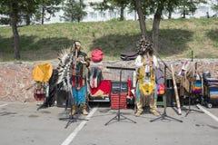 Представление этнического ансамбля Стоковое фото RF
