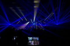 Представления концерта Стоковые Фото