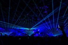 Представления концерта Стоковая Фотография