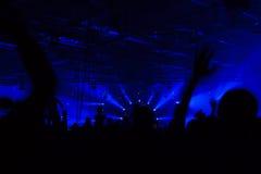 Представления концерта Стоковое Изображение RF