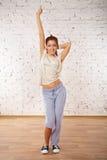 Представления современного танца. Стоковое Изображение