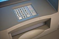 представленная кнопочная панель изображения 3d atm Стоковое Изображение RF
