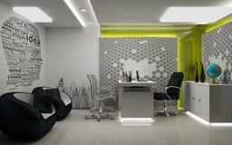 Представленная комната 3D MD Стоковое Изображение RF