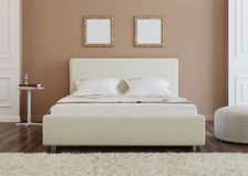 представленная молния окружающей спальни 3d нутряная Стоковые Фото
