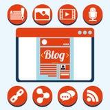 представленное изображение принципиальной схемы блога 3d бесплатная иллюстрация