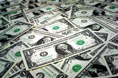 представляет счет вентилятор доллара мальчика держа 100 дег одной человека Стоковое фото RF