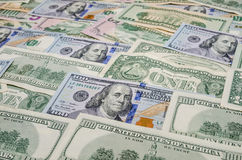 представляет счет доллар несколько Стоковое Фото