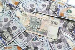 представляет счет доллар Стоковое Изображение RF