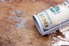 представляет счет доллар Стоковая Фотография RF