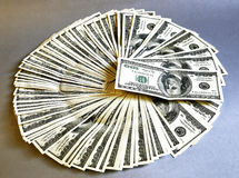 представляет счет доллар Стоковые Изображения